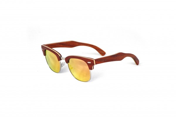 Bamboo Wooden Fire red